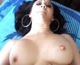 Curvy sexy Indian with big tits fucks hard cock