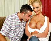 Busty blonde Phoenix Marie fucks with Keiran Lee