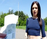 Public Agent – Lullu Gun with sexy ass rides big cock in a public place